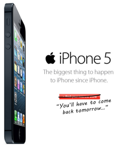 iphone5 tomorrow