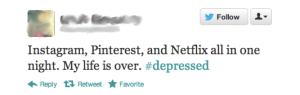netflix down depressed