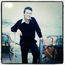 Dad in Italy in 1971.