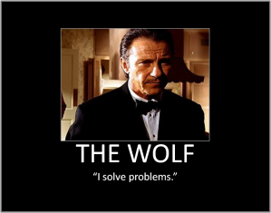 the wolf - i solve problems