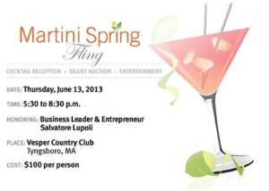 SEGL Martini Spring Fling 2013