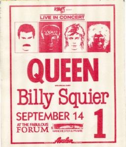 Queen at LA Forum 1982