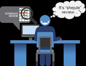 shejule review