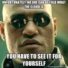 matrix cloud meme