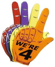 We're Number 4