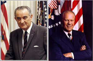 Pres Johnson and Ford