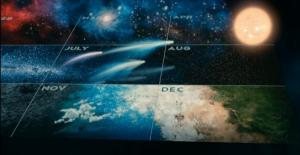 cosmos calendar