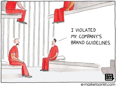 violated brand guidelines
