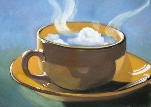 clouds in my coffee by classina