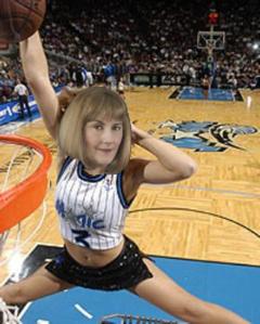 terri dunking