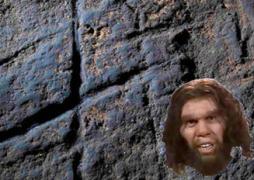 Neanderthal hashtag art