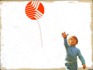 Letting go Red Balloon