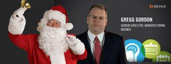 Gregg and Santa