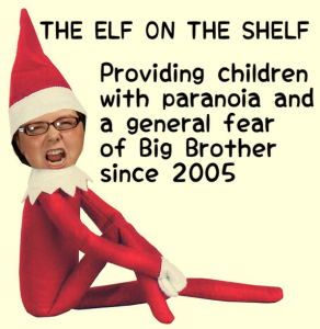 Joyce Elf on the Shelf