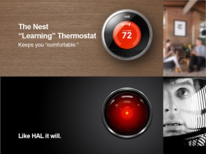 Hel The Learning Thermostat - Like HAL