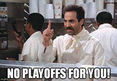 no playoffs