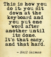 Gaiman on Writing