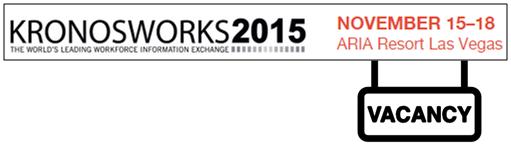 KW2015 Vacancy