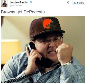 Browns get podesta