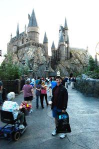 Kyle at Hogwarts