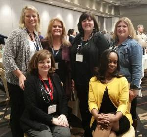 Some of the strong women of Kronos at the Global Project Management Summit in Atlanta last week